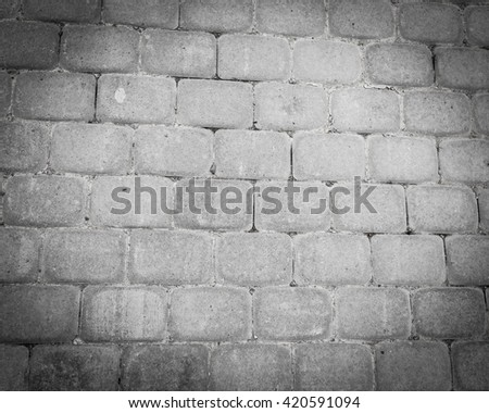 paving stones as a background. texture - stock photo
