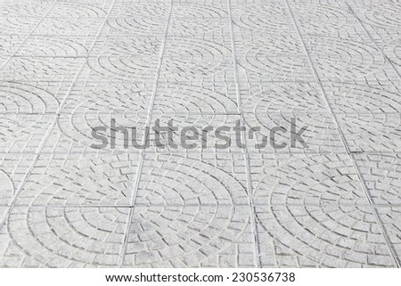 Paving stones  texture ,road, pavement, surface, way, street - stock photo