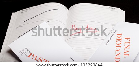 Pay day loan concept shot - stock photo