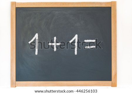 pay on a blackboard
