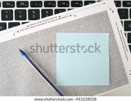 Paycheck - stock photo
