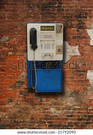 payphone - stock photo