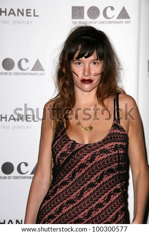 "Paz de la Huerta  at MOCA's Annual Gala ""The Artists Museum Happening,"" MOCA Grand Avenue, Los Angeles, CA.  11-13-10"