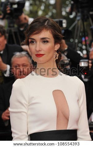 "Paz Vega at the gala screening of ""Madagascar 3:Europe's Most Wanted"" at the 65th Festival de Cannes. May 18, 2012  Cannes, France Picture: Paul Smith / Featureflash"