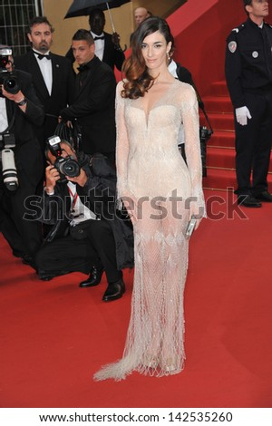 "Paz Vega at the premiere of ""The Great Gatsby"" the opening movie of the 66th Festival de Cannes. May 15, 2013  Cannes, France"