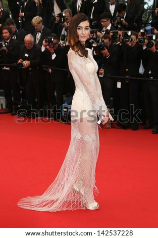 Paz Vega at the 66th Cannes Film Festival - Opening ceremony and Great Gatsby premiere, Cannes, France. 15/05/2013 - stock photo