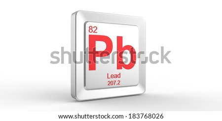 pb symbol 82 material for lead chemical element of the periodic table - Periodic Table Symbol Pb