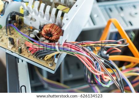 PC Power Supply Repair Stock Photo (Royalty Free) 626134523 ...