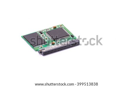 pcb on wite