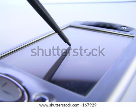 PDA - stock photo