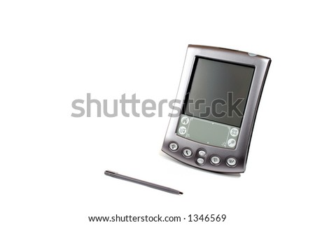 PDA Personal Digital Assistant - stock photo