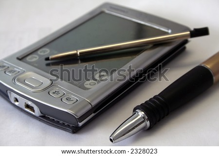 PDA, stylus pen, and pen