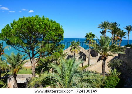 Spain September 15 2017 View Castle Stock Photo 724100149 - Shutterstock