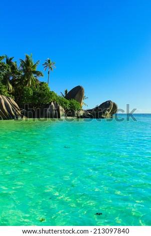 Peace Beauty Paradise  - stock photo