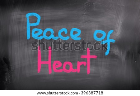 Peace Of Heart Concept