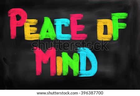 Peace Of Mind Concept