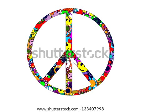 Peace Symbol - stock photo