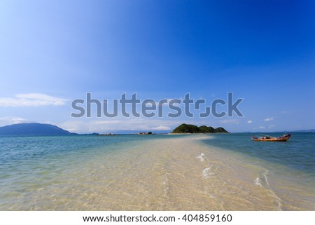 Peaceful beach in heaven Nha Trang, VietNam