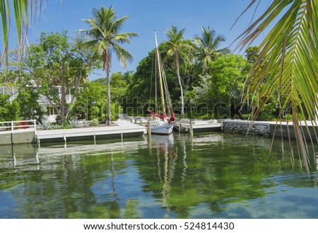 Peaceful Dockage in Islamorada, Florida