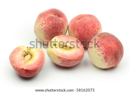 peaches - stock photo