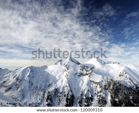 Peak Vihren in National Park Pirin, Bulgaria - stock photo