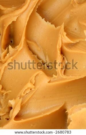 Peanut Butter Texture - stock photo