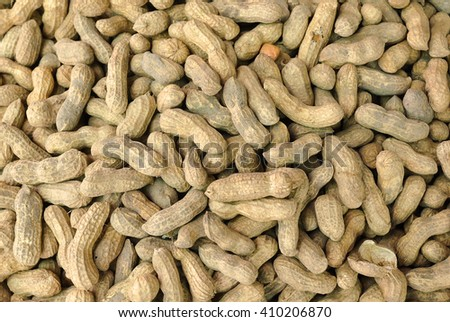 Peanuts..a high protein vegetable