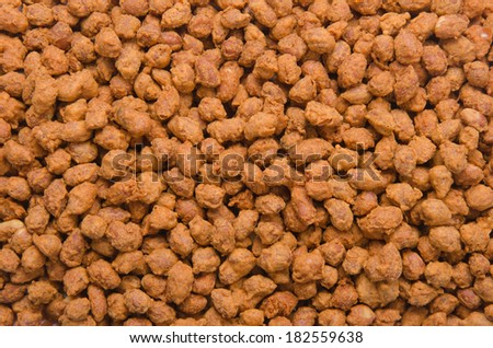 Peanuts. Processed peanuts on background