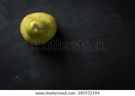 Pear Food Background - stock photo