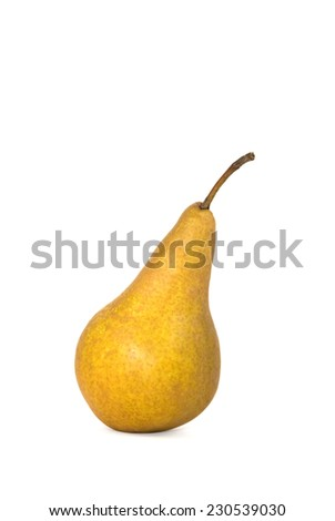 Pear on white background  - stock photo