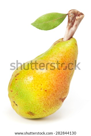 Pear with bone  - stock photo
