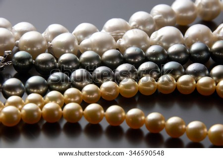 Pearl, necklace