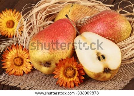 Pears Still Life - stock photo