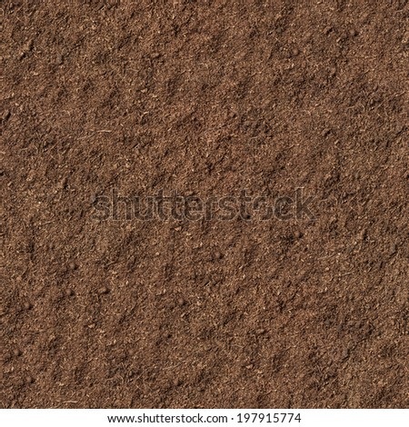 peat soil as a background - stock photo