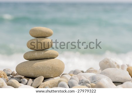 pebble on a beach