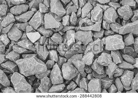 pebble stones background - stock photo