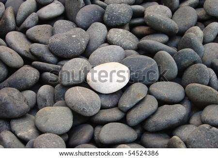 Pebble stones, best for background - stock photo