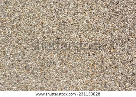 pebble stones floor texture background - stock photo
