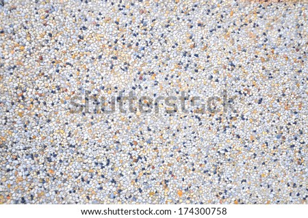 Pebble Stones For Background - stock photo
