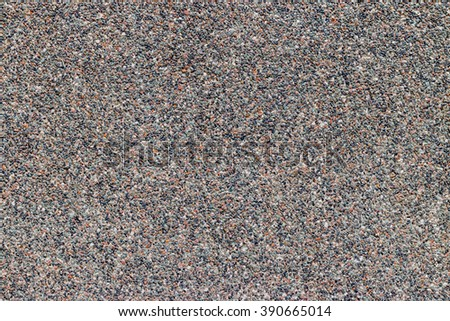 Pebble wall texture background, empty template for background - stock photo