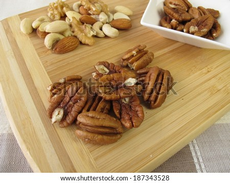 Pecan and other nuts