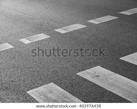 pedestrian crossing - stock photo
