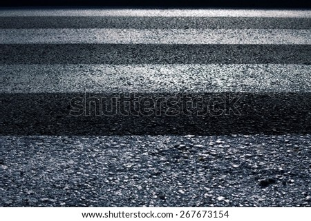 pedestrian crossing background - stock photo