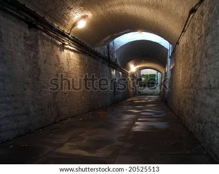 Pedestrian Subway - stock photo