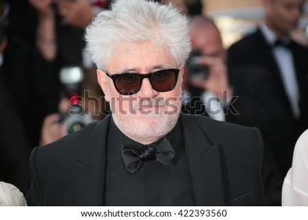 Pedro Almodovar attends a screening of 'Julieta' at the annual 69th Cannes Film Festival at Palais des Festivals on May 17, 2016 in Cannes, France.