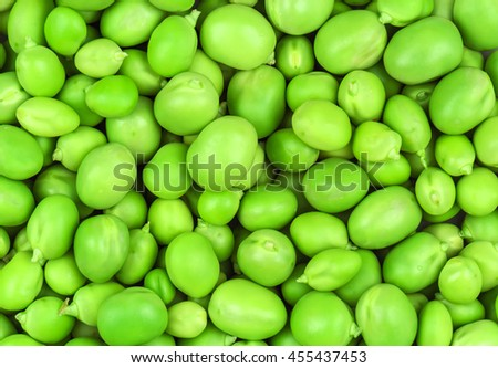 peeled green pea as a texture