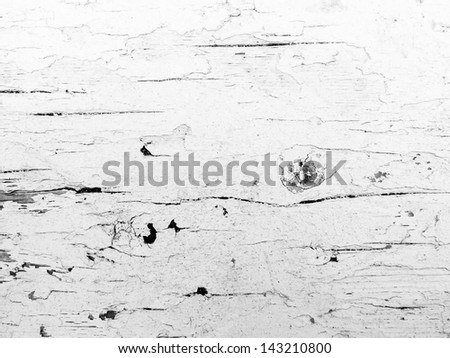 Peeling Paint on Wood  - stock photo