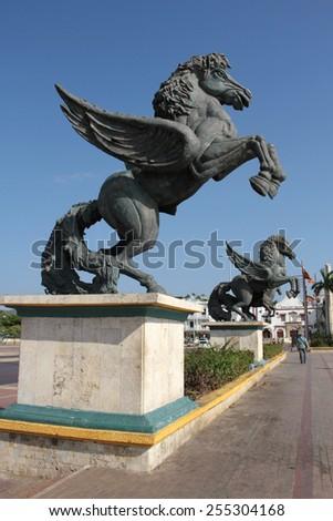 Pegasus Palace - stock photo