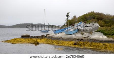 Peggy's Cove - stock photo