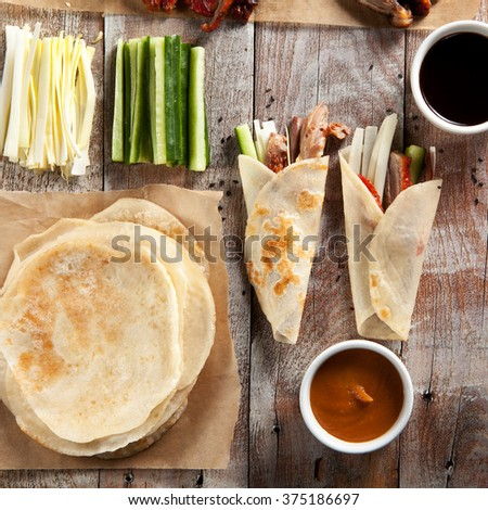 Peking Duck on Parchment
